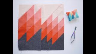 Tutorial: Cutting Diamond Quilts