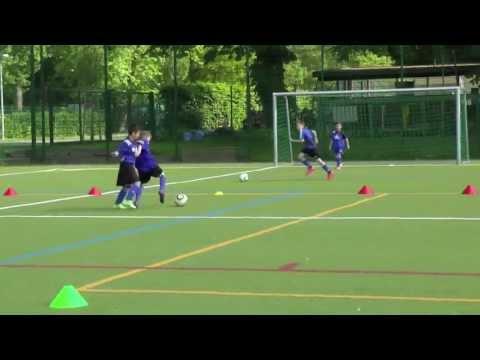 Taktik - Zweikampfschulung - 1vs1 (off./def.) - Gegner frontal (1) - FC Concordia Basel U10
