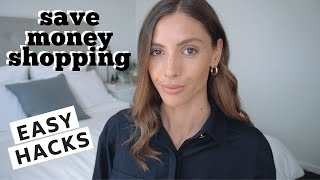 HOW TO SAVE MONEY SHOPPING FOR CLOTHES | Spend less money but remain fashionable!