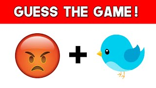 Can You Guess The Mobile GAME From The Emojis?   Emoji Game Puzzle