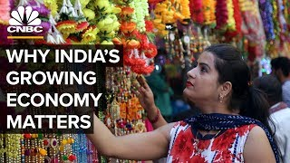 How India's Economy Is Growing At A Faster Pace Than China