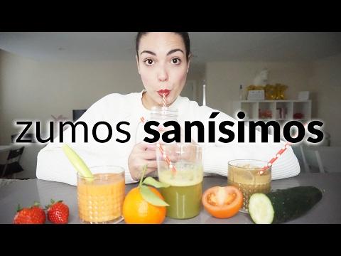 Batidos y zumos sanos para comer fruta y verdura | Pretty and Olé