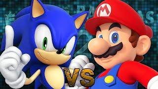 Mario Vs Sonic 2. Épicas Batallas De Rap Del Frikismo T2   Keyblade Ft. Varios  Prod. Vau Boy