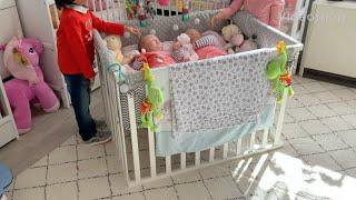 Eine kleine runde mit reborn babys und künstlerpuppen (unbezahltes werbevideo ) nicht für kinder