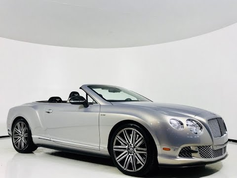 Pre-Owned 2014 Bentley Continental GT Speed Convertible