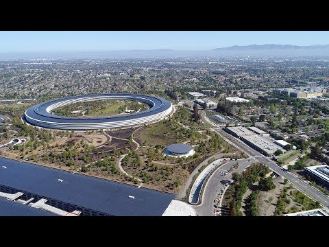 APPLE PARK: A Very Private Corporate Campus | mid-April 2018