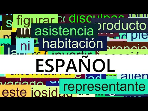 3000+ Common Spanish Words with Pronunciation