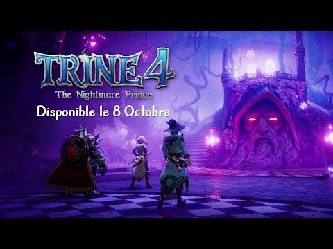 Trailer de lancement de Trine 4 : The Nightmare Prince