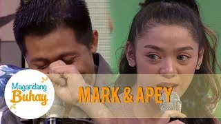 Mark and Apey are emotional after giving a message to each other | Magandang Buhay