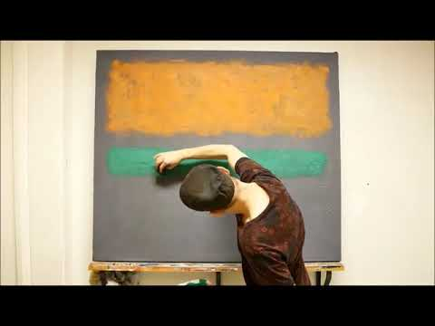 Paint your Rothko. Online course. Color field painting