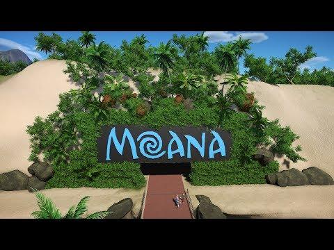 Moana the Ride   -   Planet Coaster