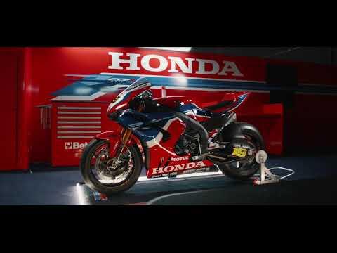 スーパーバイク Team HRCのCBR1000RR-R ファイヤーブレイド動画