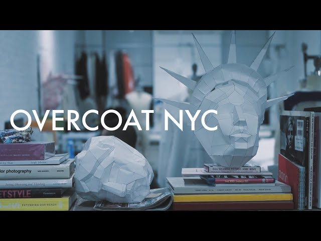 【OVERCOAT NYC】NYを拠点に活躍する日本人パタンナー大丸隆平が手がける珠玉の一着。