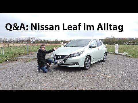 Nissan Leaf im Alltag: Eure Fragen - Wir antworten (Reichweite, Schnell-Laden, ...) - Autophorie
