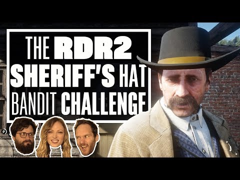 The Red Dead Redemption 2 Bandit Challenge – STEALING SHERIFF MALLOY'S HAT!