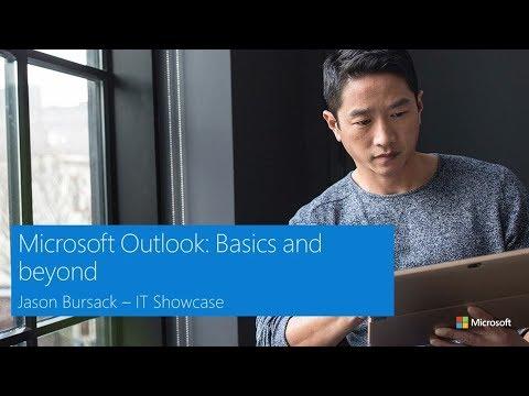 Microsoft Outlook: Basics and beyond - YouTube