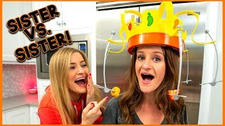 FORCING MY SISTER TO PLAY CHOW CROWN! *Embarrassing*
