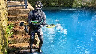 What Will I Find Underneath An Abandoned Radioactive Spring? (Scuba Diving)