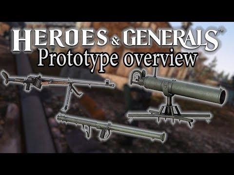 Ampulomet, PzB-39, m9a1 Bazooka - HnG Prototype Overview