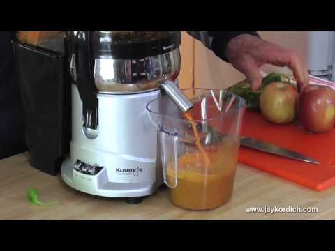 Kuvings Centrifugal Juicer Review With Jay & Linda Kordich