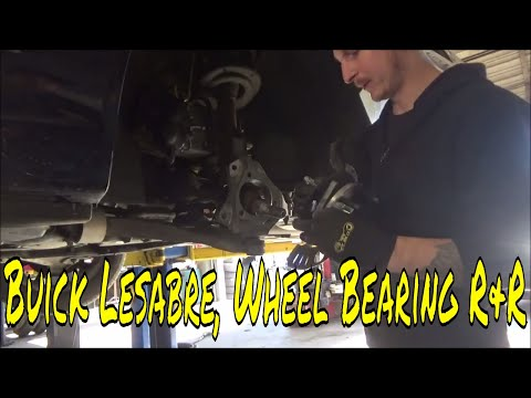 2007 Buick, Wheel Bearing Replacement