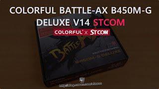 COLORFUL BATTLE-AX B450M-G DELUXE V14 STCOM_동영상_이미지