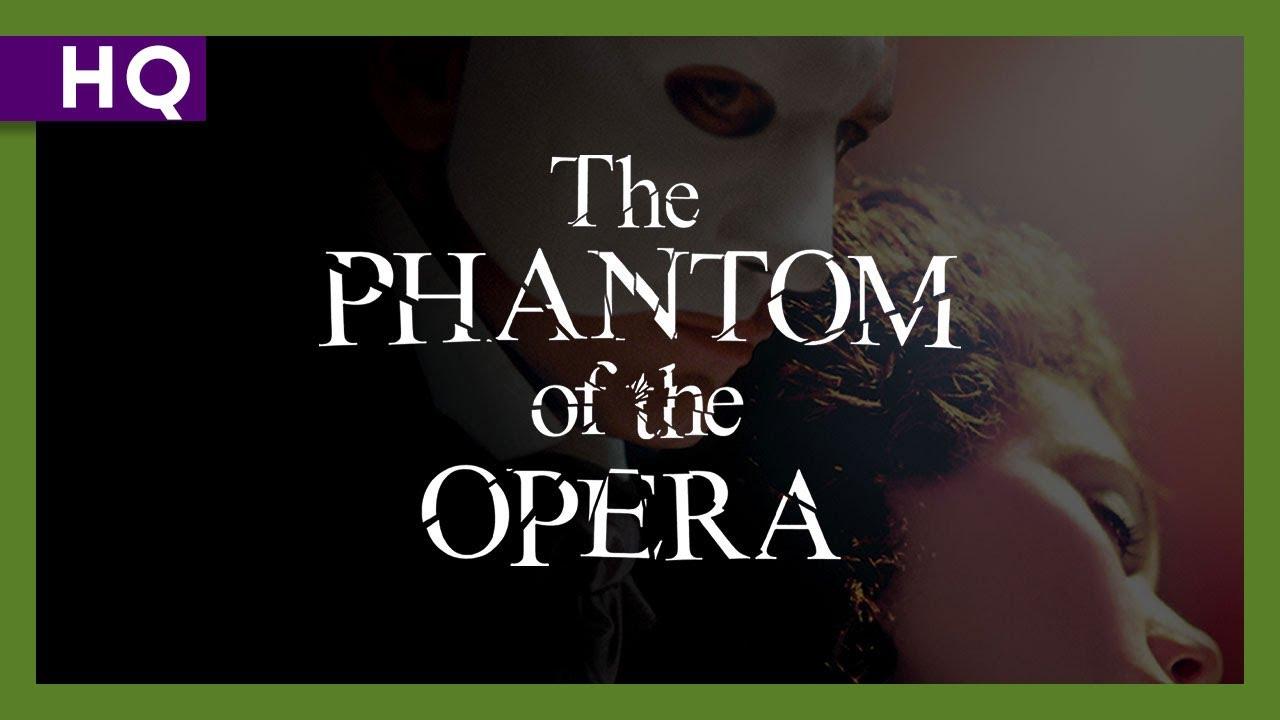 Trailer för Fantomen på operan