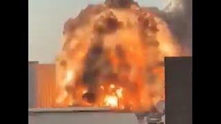 Lebanon, Beirut GIANT EXPLOSION in the city