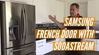 Samsung French Door RF24HSESBSR with Sodastream