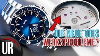 ORIS 400 - LOHNT DER KAUF TROTZ WERKSPROBLEM? ORIS AQUIS DATE CAL.400 |Test|Review|Deutsch