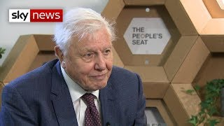 Thumbnail for Sir David Attenborough urges leaders to aim 'high' at climate talks