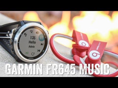 Garmin FR645 Music! Super-detailed hands-on!
