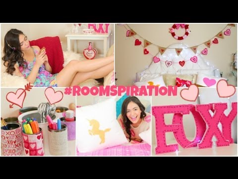 DIY Room Decorations for Valentine's Day & more!