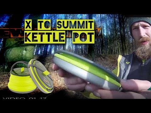 sea to summit X-POT KETTLE Ultra-leicht UL Campinggeschirr