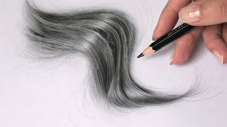 This TIP will bring your drawings to life - Drawing REALISTIC HAIR and Figure Studies.