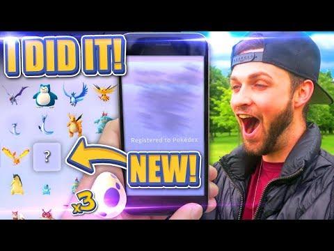 I DID IT - POKEDEX COMPLETE! (ALMOST) - Pokemon GO
