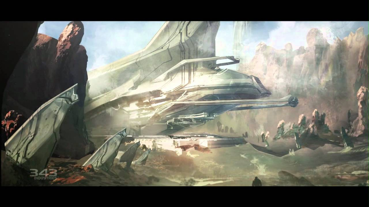 Halo 4's Artistic Direction Is Massive, Mysterious