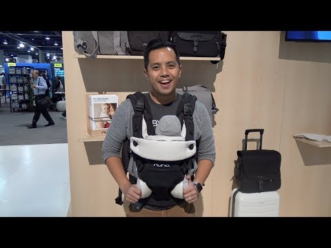 Nuna cudl Baby Carrier Demo & Review | First Look at ABC Kids Expo 2018