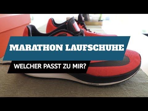 Laufschuhe Test | Ideale Marathon Jogging Schuhe finden