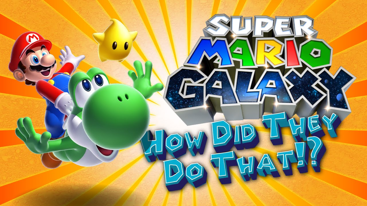 How Gravity Works In Super Mario Galaxy