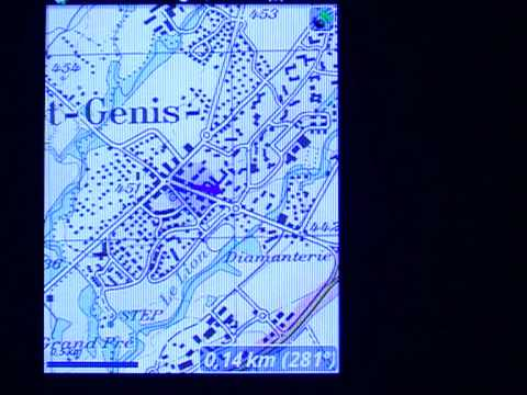 GPS Cartografico con telefono Android e inclinometri!