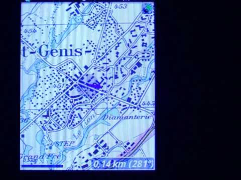 GPS Cartografico con telefono Android e inclinometri!