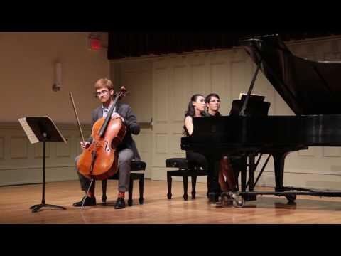 Ludwig van Beethoven, Sonata for Piano and Cello Op. 5 No. 2 Accompanist: Rui Urayama