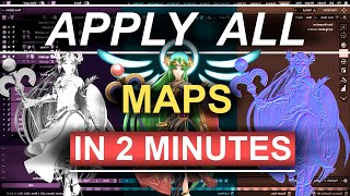 Watch Video - Apply all Texture Maps (In 2 Minutes)