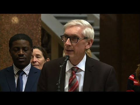 Wisconsin Gov. Tony Evers announced Monday his budget will include proposals to decriminalize possession of small amounts of marijuana for personal use and legalize medical marijuana. (Feb. 18)