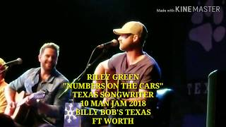 """Riley Green, """"Numbers On The Cars"""" 10 Man Jam 2018, Billy Bob's Texas, Ft Worth"""