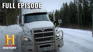 Ice Road Truckers: Full Episode - Jackknife Jeopardy (Season 11, Episode 2) | History