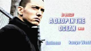 Eminem Feat Wiz Khalifa and Kanye West - A Drop in the Ocean