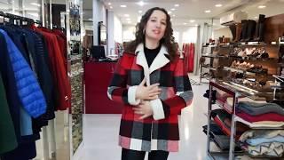 Vídeo Casaco Xadrez com Forro de Pele Mosaico