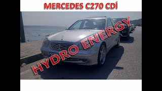 Mercedes 270 cdi hidrojen yakıt tasarruf sistem montajı